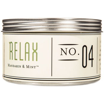 Relax Mandarin & Mint Candle Tin